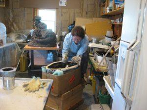 kathleen-pic-lh-studio-wax-otter-mold-2010